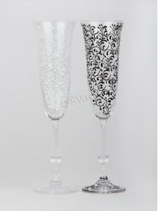 Свадебные бокалы Angela 190 ml Жених-Невеста БК-014