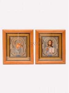 Иконы освященные рамка дерево 038