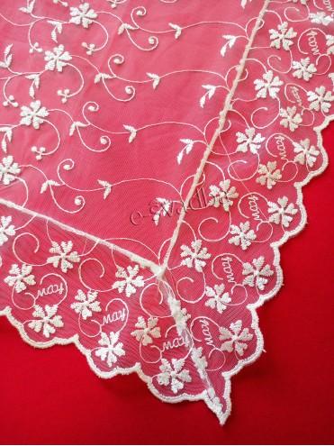 Свадебный платок после снятия фаты кружевной 03 купить в Киеве