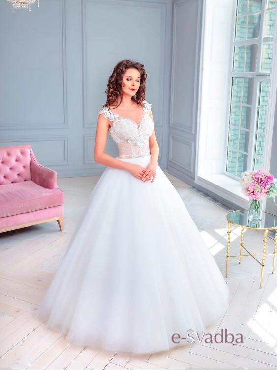 5f41db3d21424bb Пышное свадебное платье