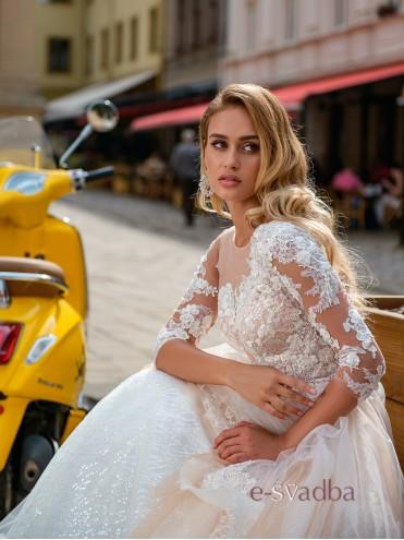 """Свадебное платье с рукавами """"Adriana"""" купить в Киеве"""