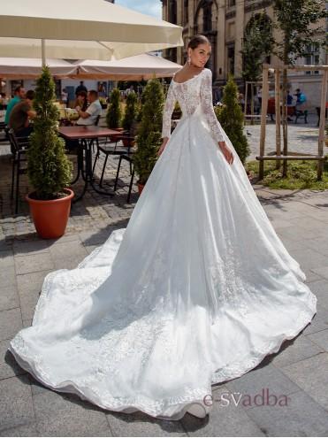 """Свадебное платье королевское """"Claribell"""" купить в Киеве"""