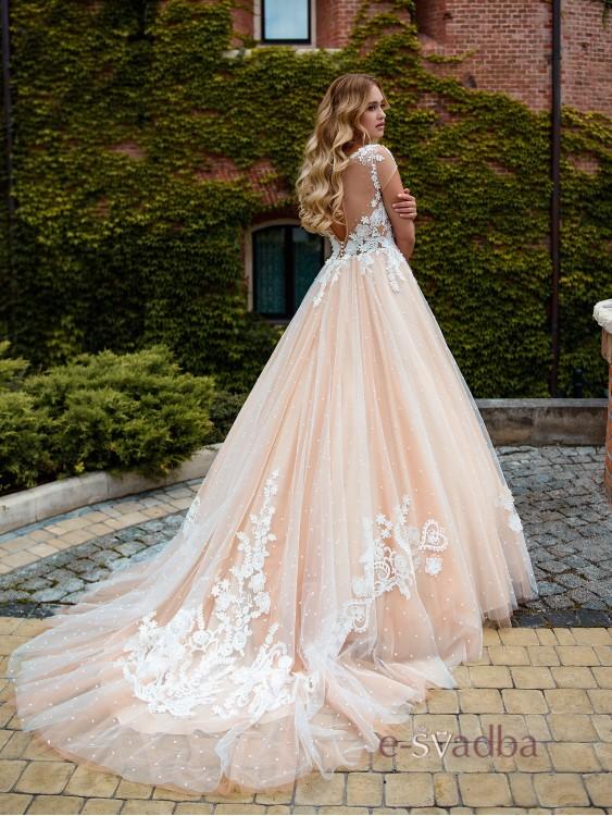 f2fdd19b0d4 ... Свадебное платье в горошек