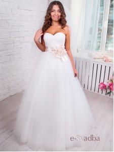 """Свадебное платье """"Пион"""""""