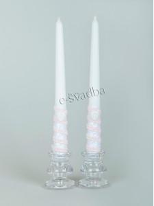 Свадебные свечи для венчания 100 грн./пара 38св