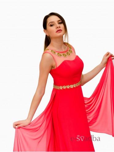 Вечернее платье из шифона в пол купить в Киеве