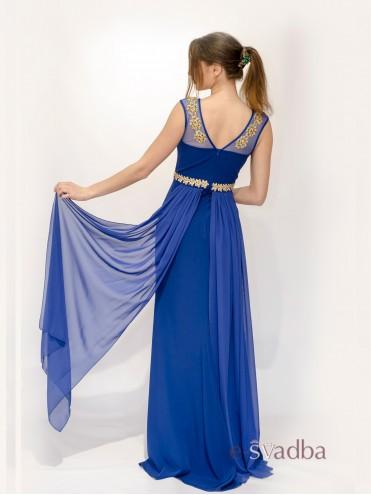 Вечернее платье синее купить в Киеве