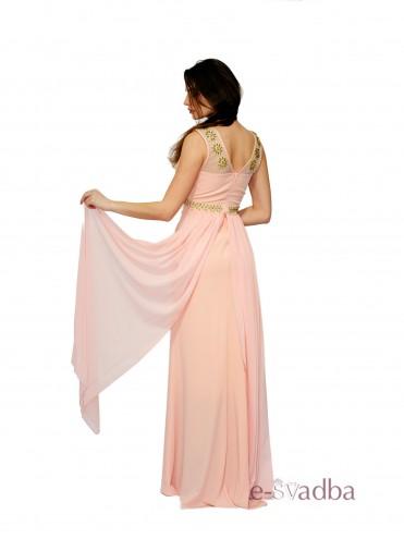 Вечернее платье розовое купить в Киеве