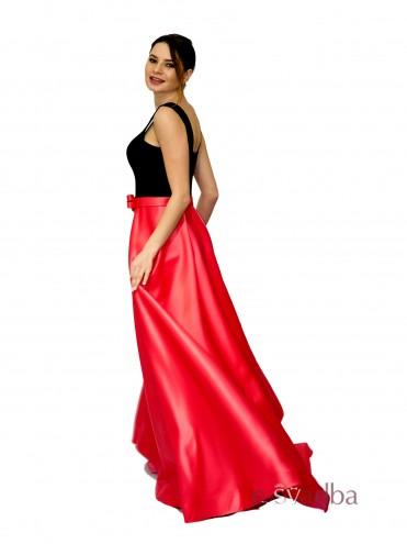 Вечернее платье из атласной ткани купить в Киеве