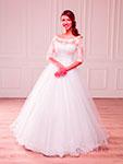 Шикарные свадебные платья и примерка