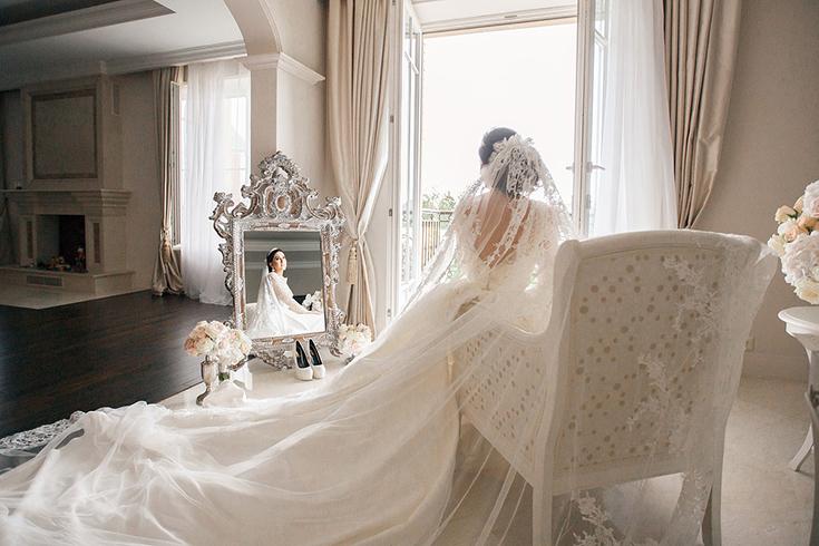 Утро невесты в фотостудии