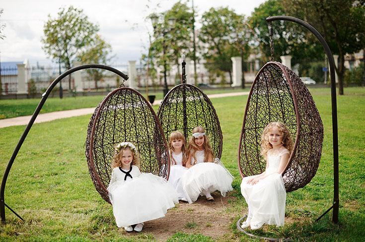 Дети на выездной свадьбе