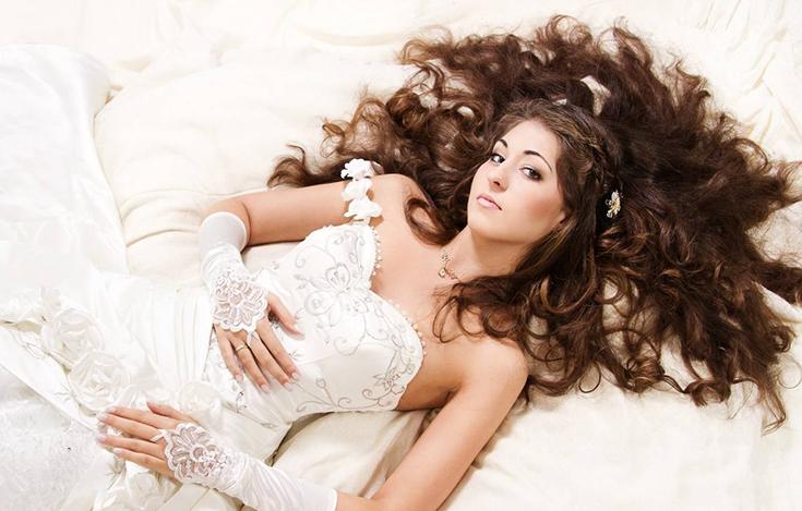 Стиль и фасон свадебного платья для беременной