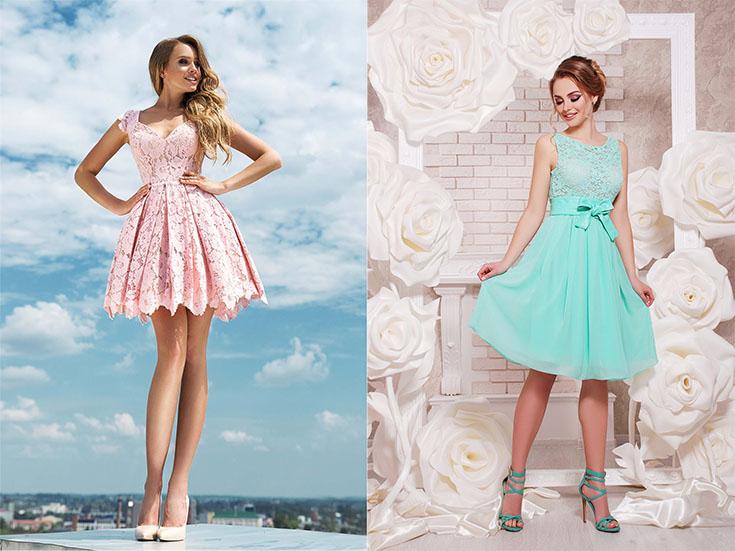 Выбор коктейльного платья