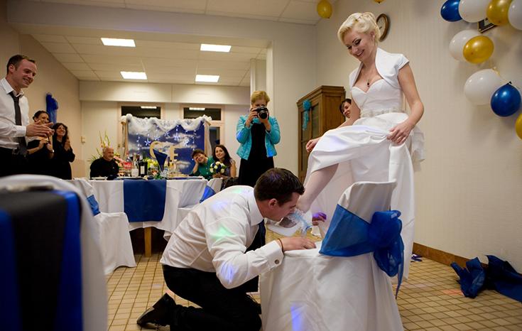 Современная традиция на свадьбе