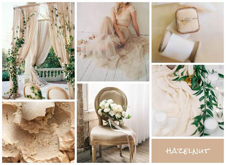 Свадьба в цвете фундук (Hazelnut)