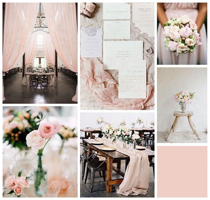 Свадьба в припылено-розовом цвете (Pale Dogwood)