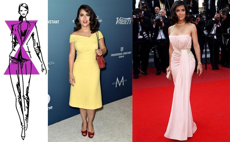 Выбор вечернего платья для фигуры типа «песочные часы»