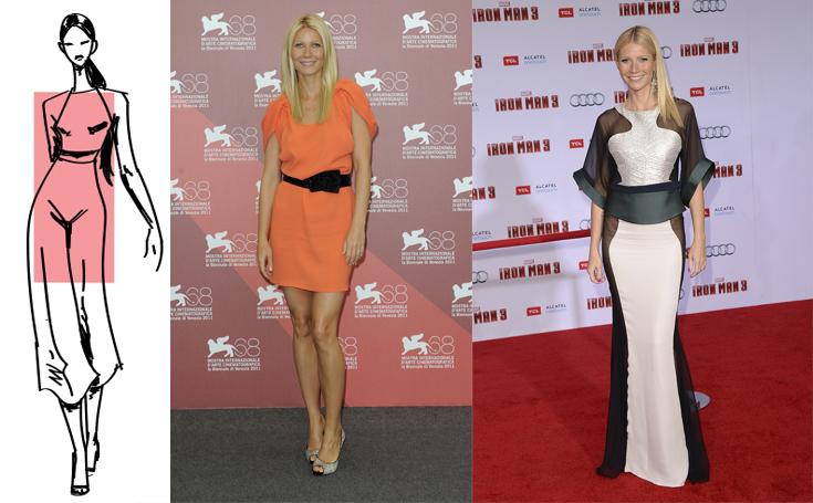 Выбор вечернего платья для фигуры типа «прямоугольник»