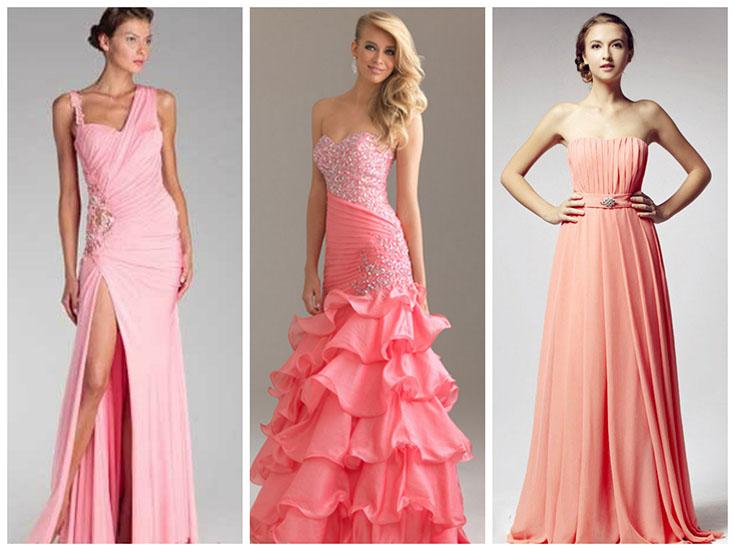 Выбор вечернего платья на стройную фигуру