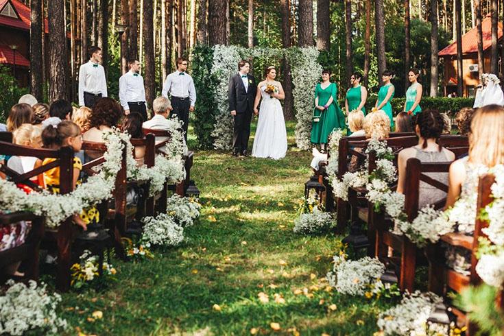 Выездная церемония в любое время года